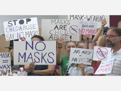 Pennsylvania Lawmakers Establish Liability For Parents Who 'Opt-Out' Of Mask Mandates In Schools